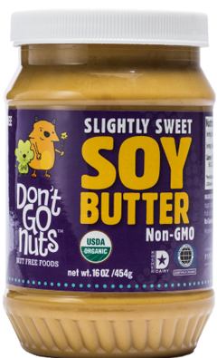 Look at this review about our Slightly Sweet Soy Butter!