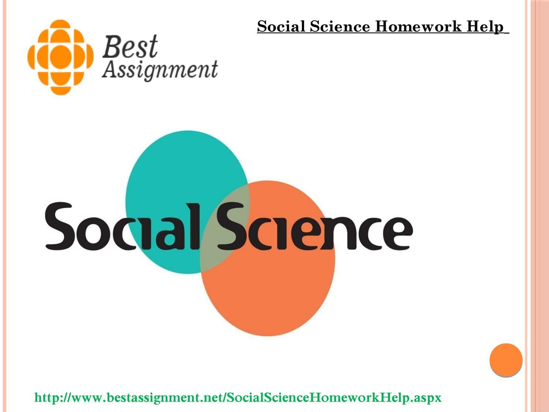 Social science homework help Social science, Science
