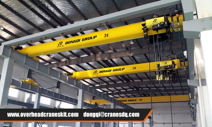 Dongqi Group Low clearance overhead crane in application | Overhead