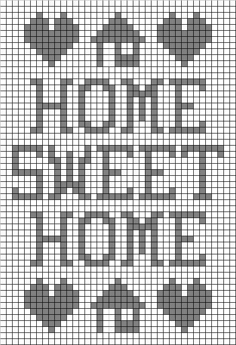 Free Filet Crochet Graph Patterns | Preview This Free Crochet ...