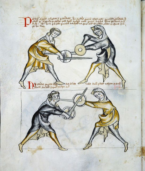 Royal Armouries MS I.33 – the oldest known fencing manual in the Western World