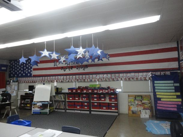 Social Studies Classroom Decoration : I have a loooong wall in my classroom what would look