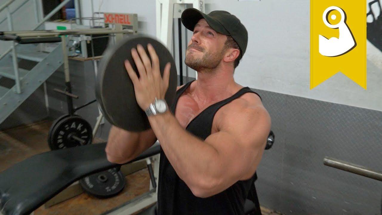 Obere Brust Training Zuhause