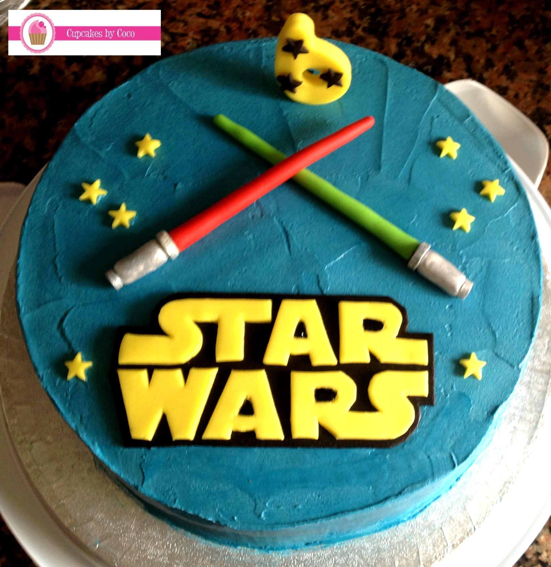 Star Wars cake  Pastel de Guerra de las Galaxias