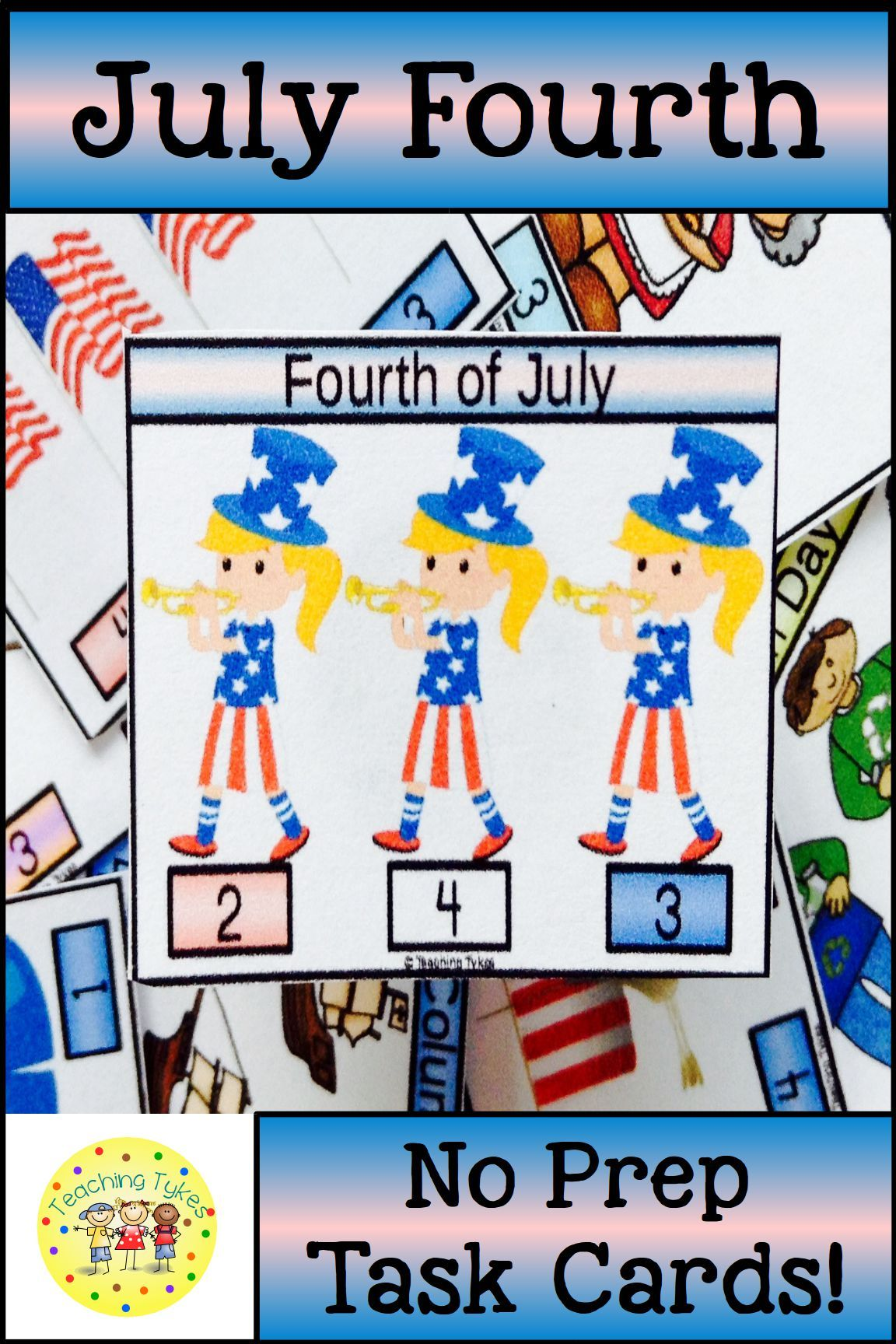 July Fourth Activity To Practice Counting Julyfourth