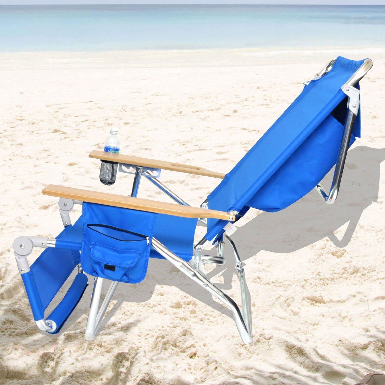 black lounge chair with wheels Best beach chair, Beach