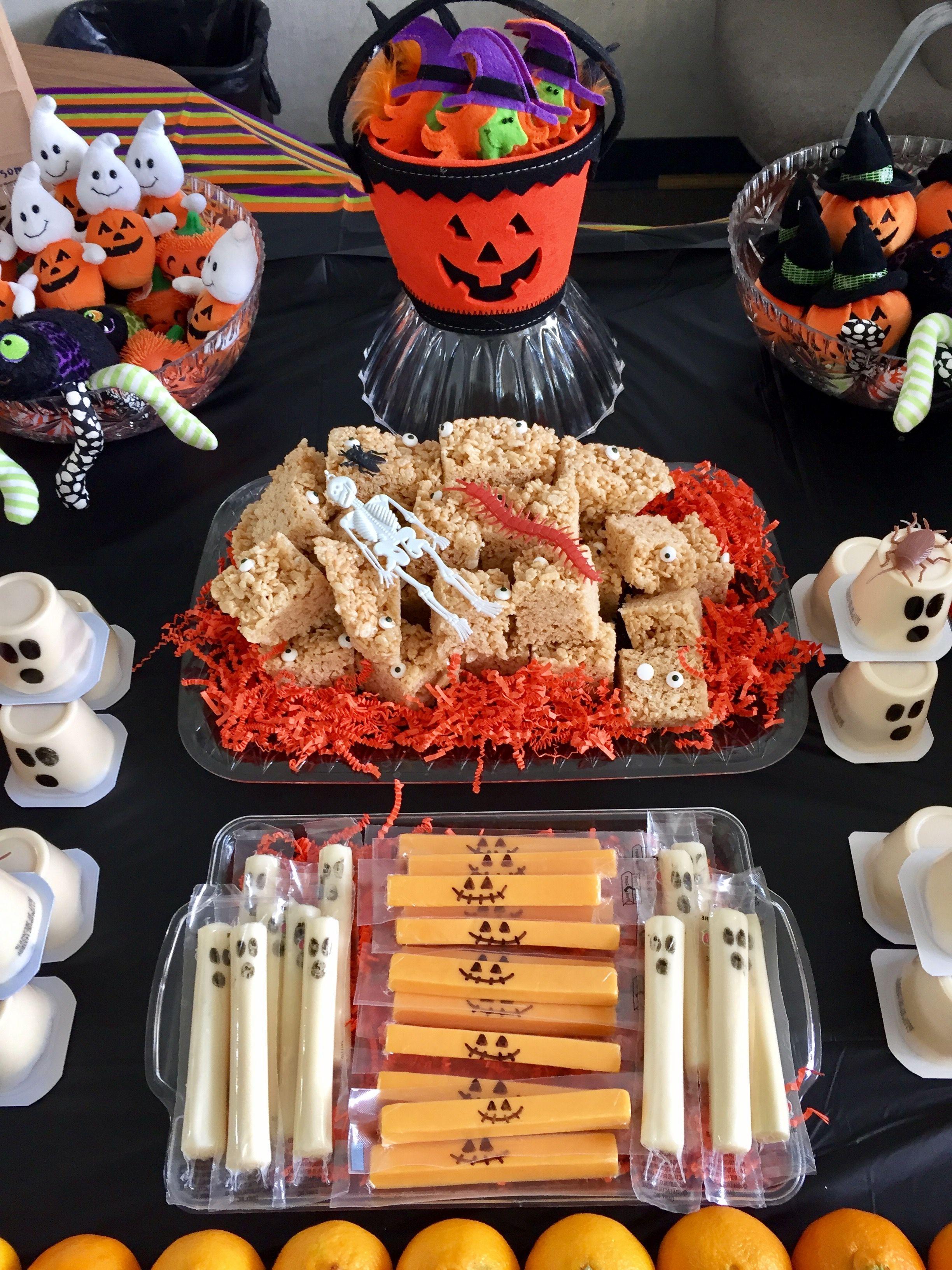 Class Halloween Party