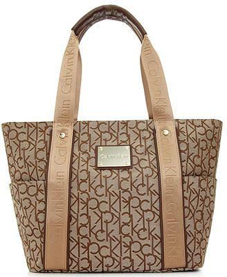 Calvin Klein Handbag, Hudson CK Jacquard Tote