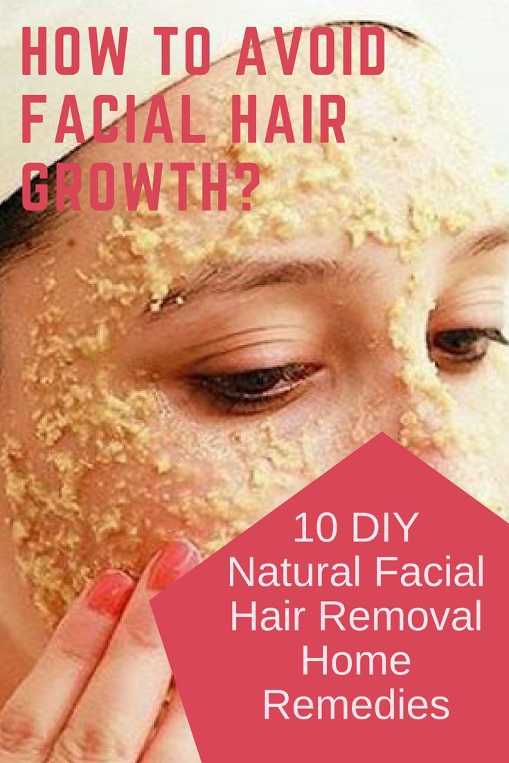 How to remove facial hair permanently at home with home