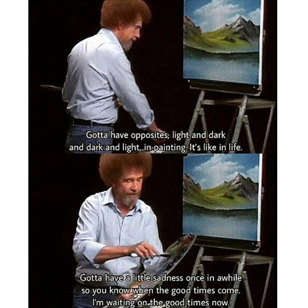 bobross in 2020 Bob ross quotes, Bob ross, Light in the