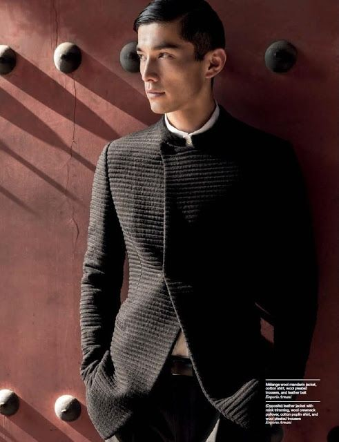 top japanese male model daisuke ueda men 39 s fashion pinterest. Black Bedroom Furniture Sets. Home Design Ideas