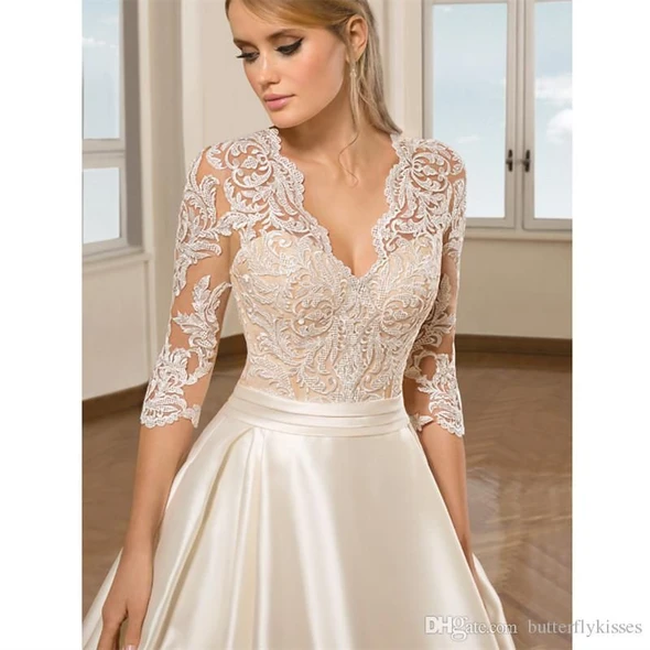 Fashion And Beautiful Victorian Wedding Dresses For Girl