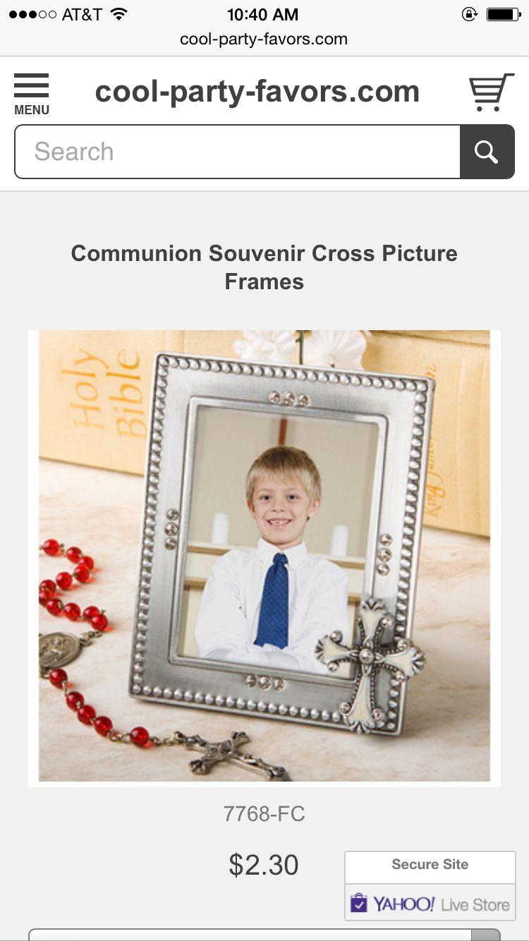 Favors | Baptism | Pinterest