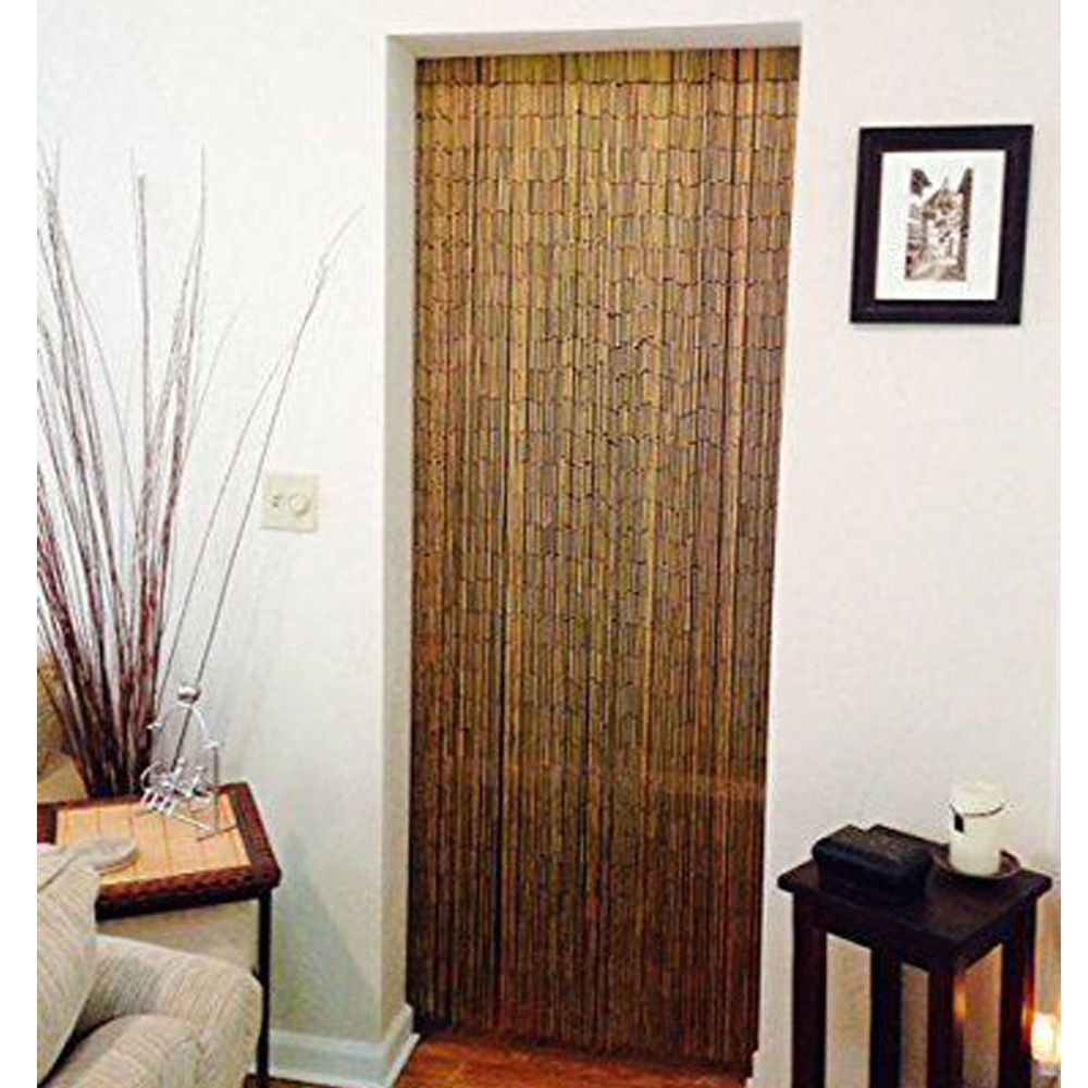 Door Decor Cover Natural Bamboo Beaded Curtain Vietnam 90 Strands Bamboo Curtain The Curtain Beaded Door Curtains Bamboo Beaded Curtains Bamboo Curtains
