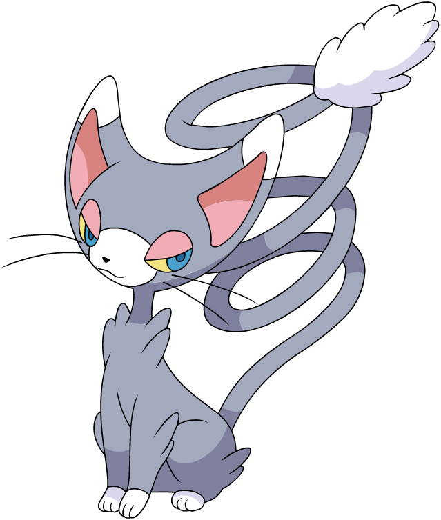 Normal cynthia glameow nintendo pokemon cosplay
