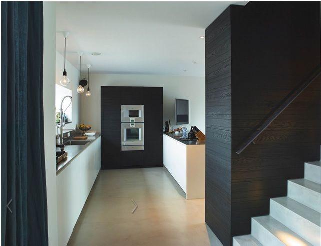 Design Hoge Kast : Keuken voorstel 1 hoge kasten en schiereiland keuken pinterest