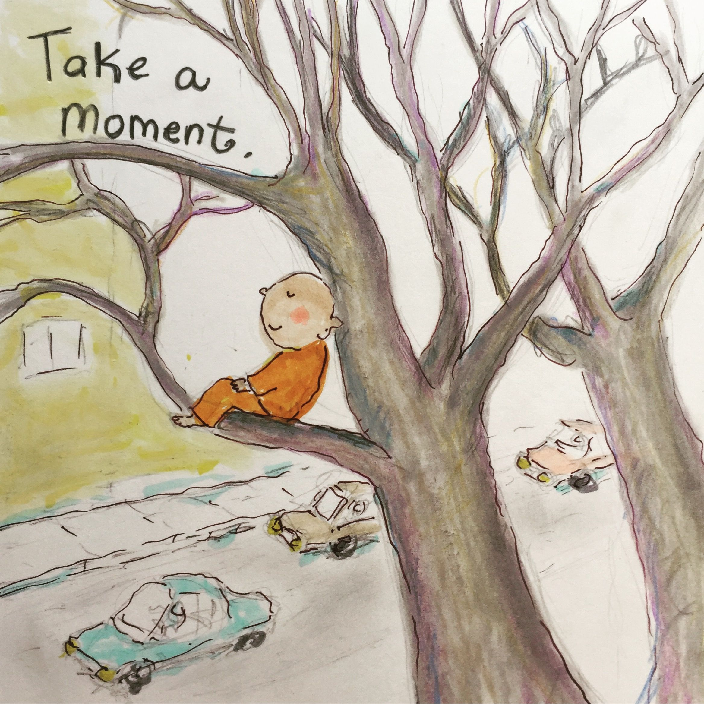 Today's Doodle: take a moment...