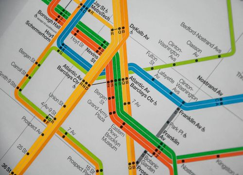 Subway Map Brooklyn Heights.Brooklyn Subway System Brooklyn Subway Map Train History