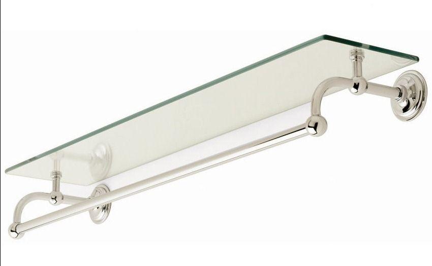 glass towel shelf for bathroom ...