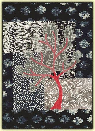 Seasons winter quilt pattern