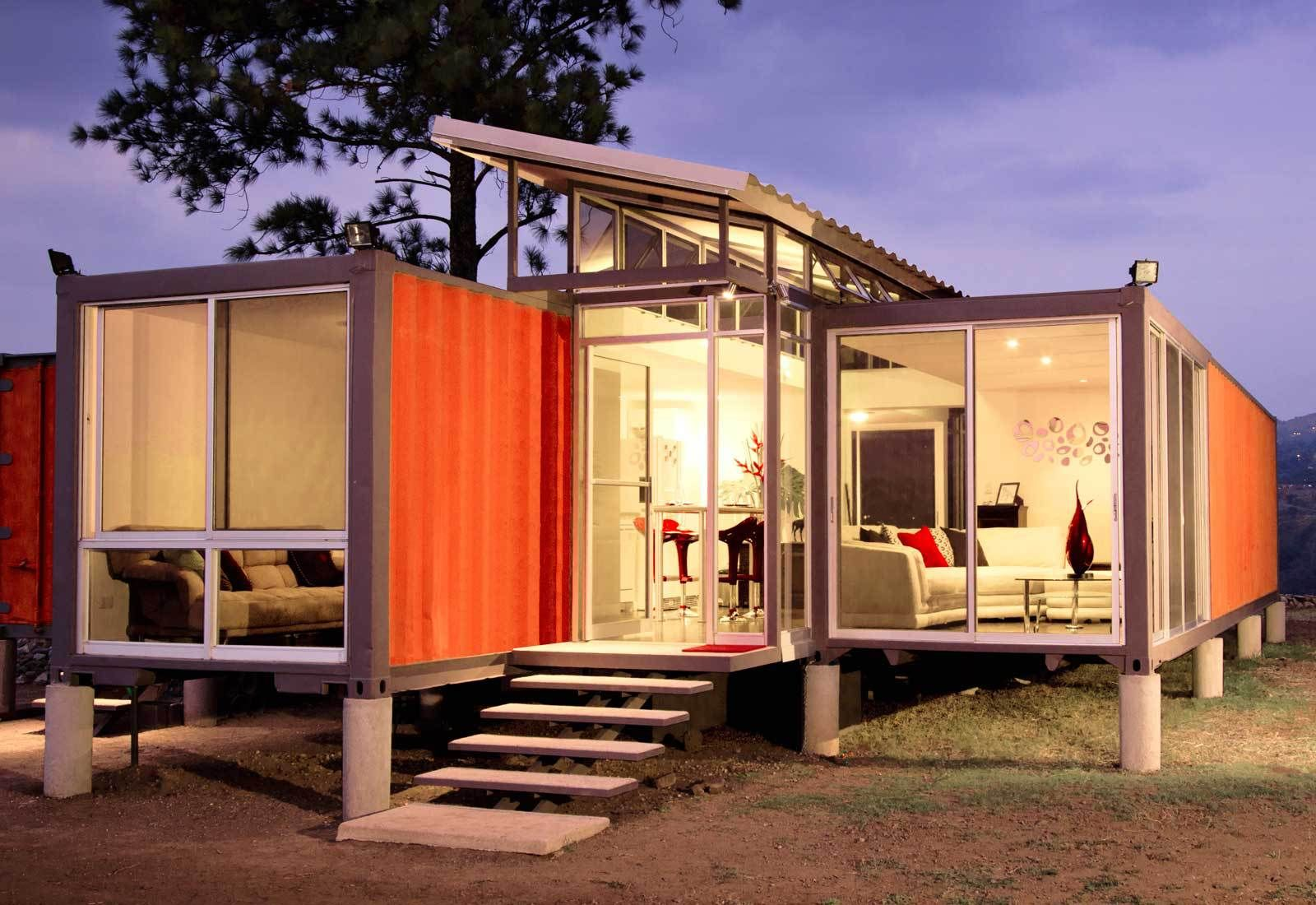 Going Off Grid 5 Inspiring And Affordable Ways To Live Off The Grid Container House Container House Plans Building A Container Home