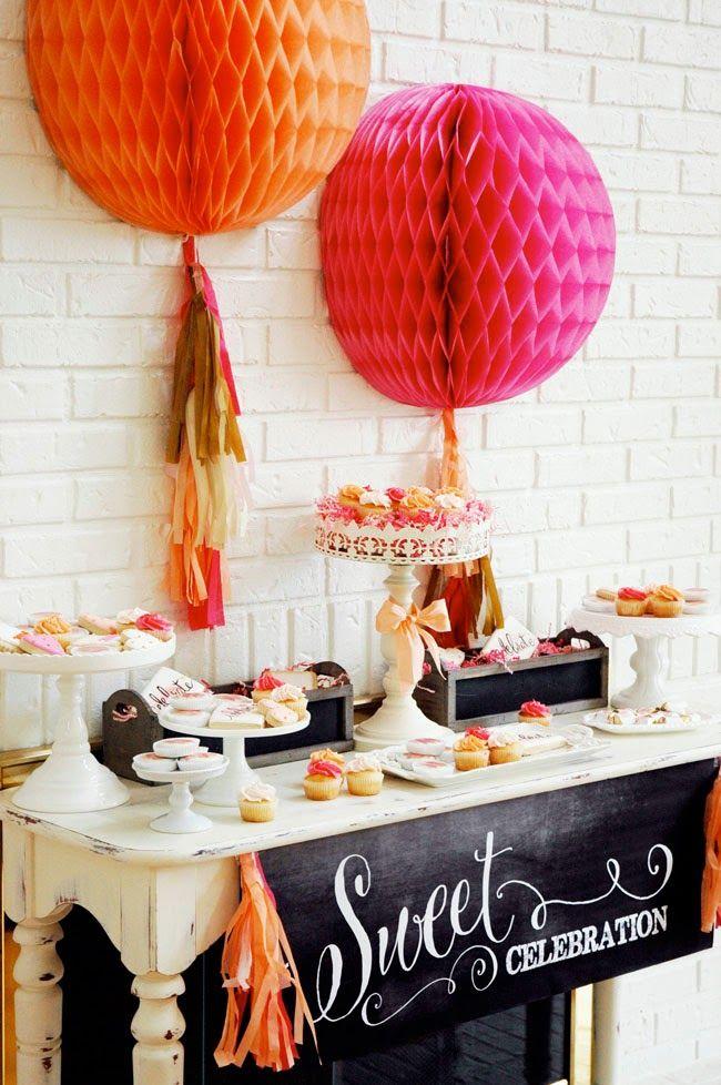 Pen n paper flowers party styling orange sherbet pink gold pen n paper flowers party styling orange sherbet pink gold graduation party mightylinksfo