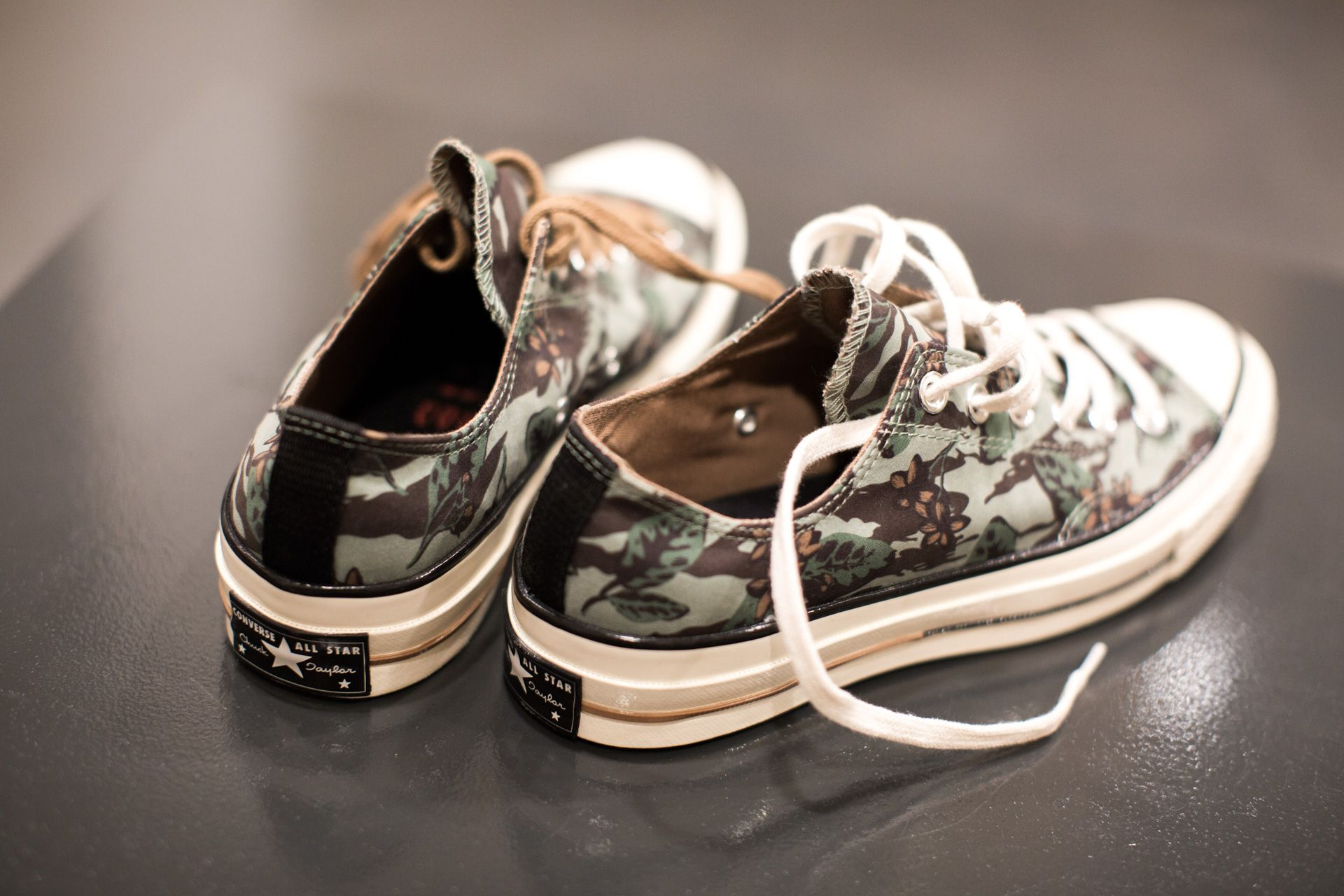 CONVERSE CHUCK TAYLOR OX '70 'FLORAL PACK' ICEBERG GREEN/WOODSMOKE/EGRET
