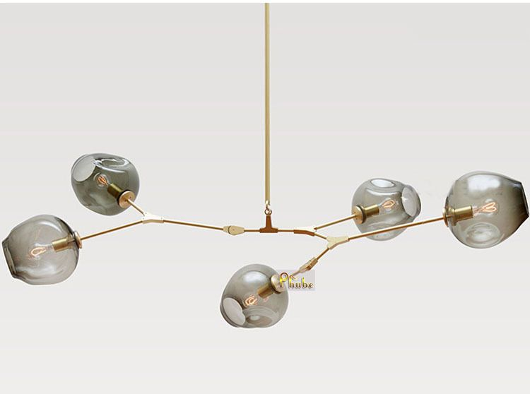 Lindsey Adelman Globe Branching Bubble Chandelier 110v 220v Modern ...