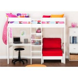 Stompa Uno High Sleeper Bed  - Boys Beds - Childrens Beds - Beds