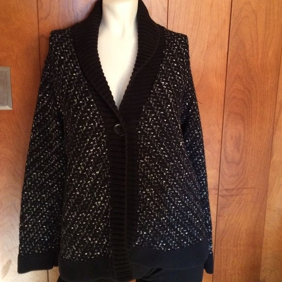 This Cardigan Speaks for itself. Very pretty. In great condition no stains or anything. Open to offers. Dana Buchman Sweaters Cardigans