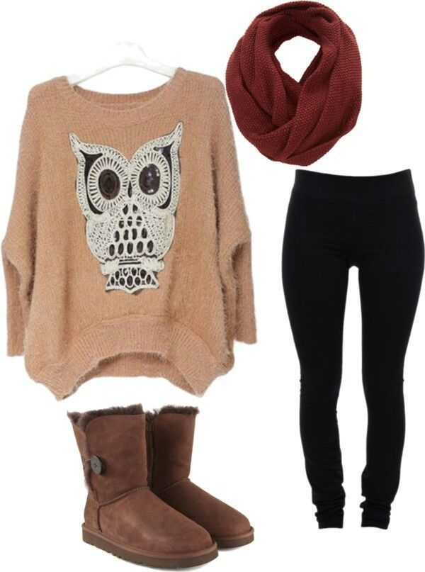 Oversized sweater w/ leggings u0026 uggs love | Cute outfits | Pinterest | Uggs Ugg boots sale and ...