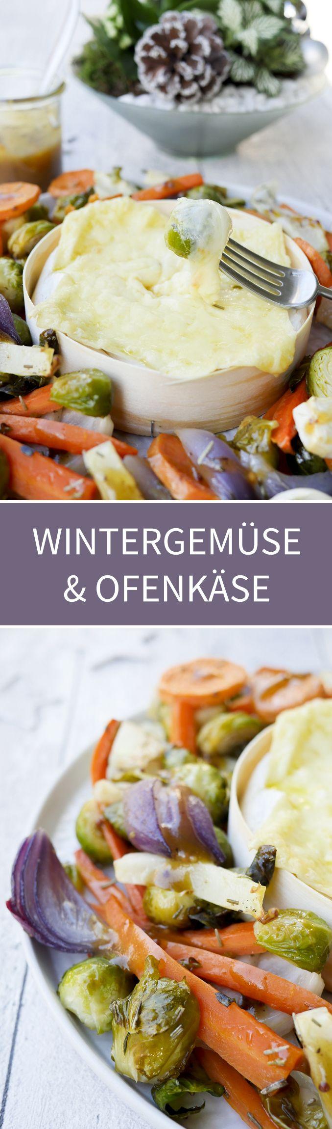 Super leckeres und schnell gemachtes Wintergemüse mit cremigem ...