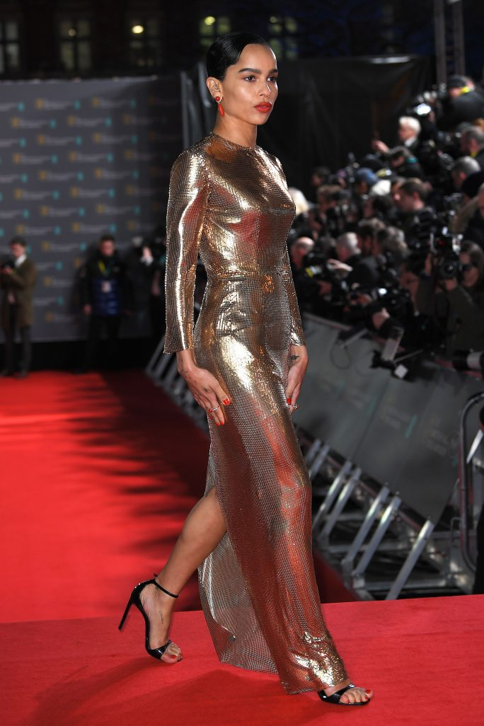 Red Carpet Arrivals At The 2020 Baftas In 2020 Red Carpet Shoes Classic Black Dress Golden Gown