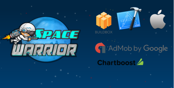 Space Warrior Buildbox Game Template Ios Xcode Project Template