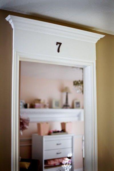 DIY Wainscoting Tutorial | Just love, Front doors and Door trims