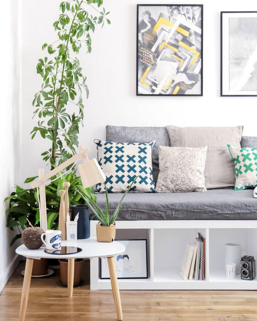 5 Ikea Hack Avec L Etagere Kallax Shake My Blog Banquette Avec Rangement Deco Deco Maison
