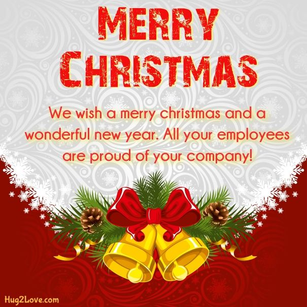 Merry christmas message for boss   Merry Christmas Quotes Wishes ...