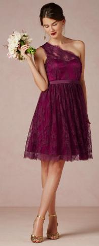 merlot bridesmaid dress http://rstyle.me/n/efcb7pdpe - Kristen ...