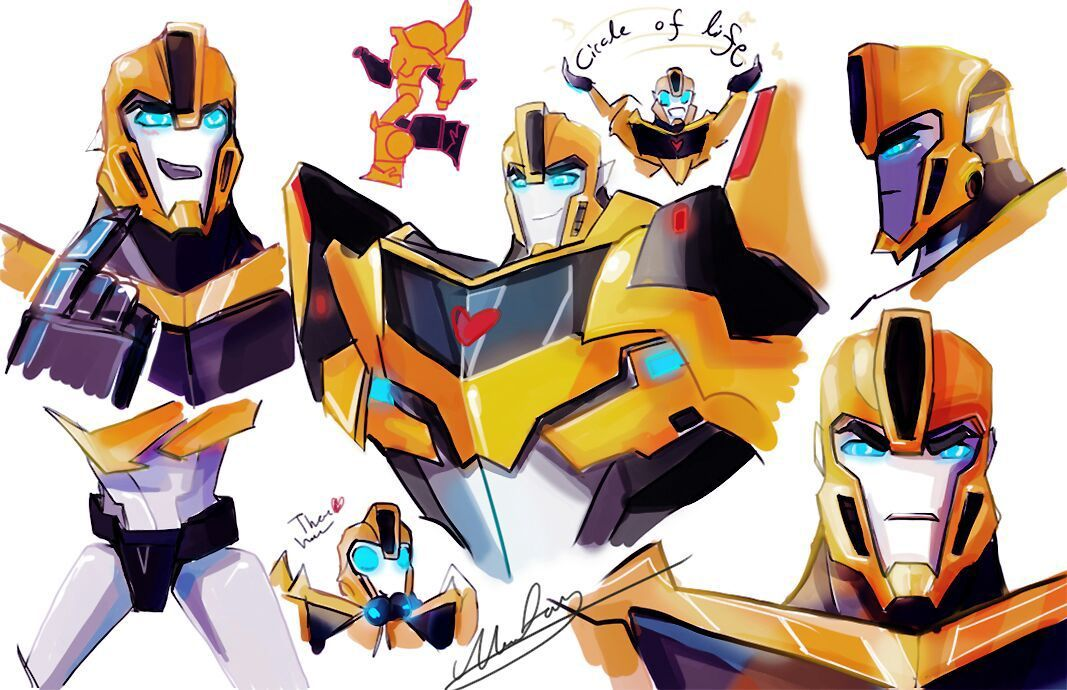 TF Rid Bumblebee X ( Sparkling) Reader - Seeing My Sire Again | Rid