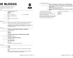 libreoffice cv template Resume Templates Libreoffice #libreoffice #resume #ResumeTemplates