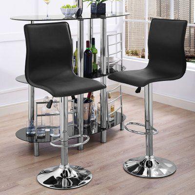 Groovy Home Source Industries Alexander Black Adjustable Height Bar Machost Co Dining Chair Design Ideas Machostcouk