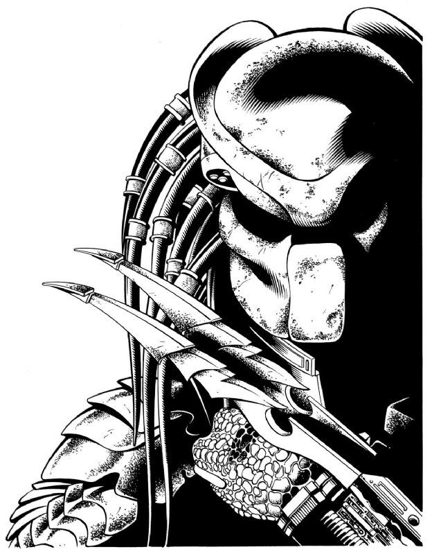 Predator by Aaron Sowd Comic Art Auction your comics on http://www ...