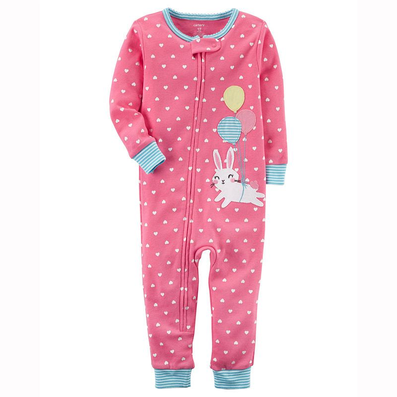 7bef2651d84d Carter s Long Sleeve One Piece Pajama-Toddler Girls