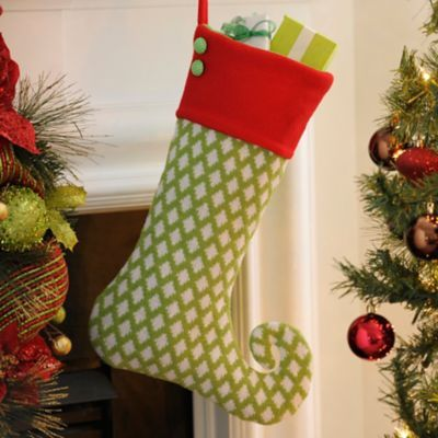 Holly Jolly Green Elf Stocking Elves, Christmas decor and Holidays