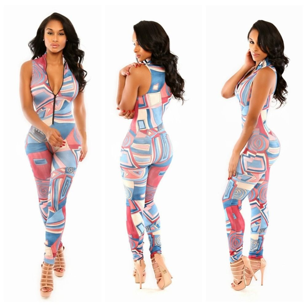 2015-Hot-Sale-New-Sexy-Vest-Jumpsuits-Rompers-Womens-printing ...