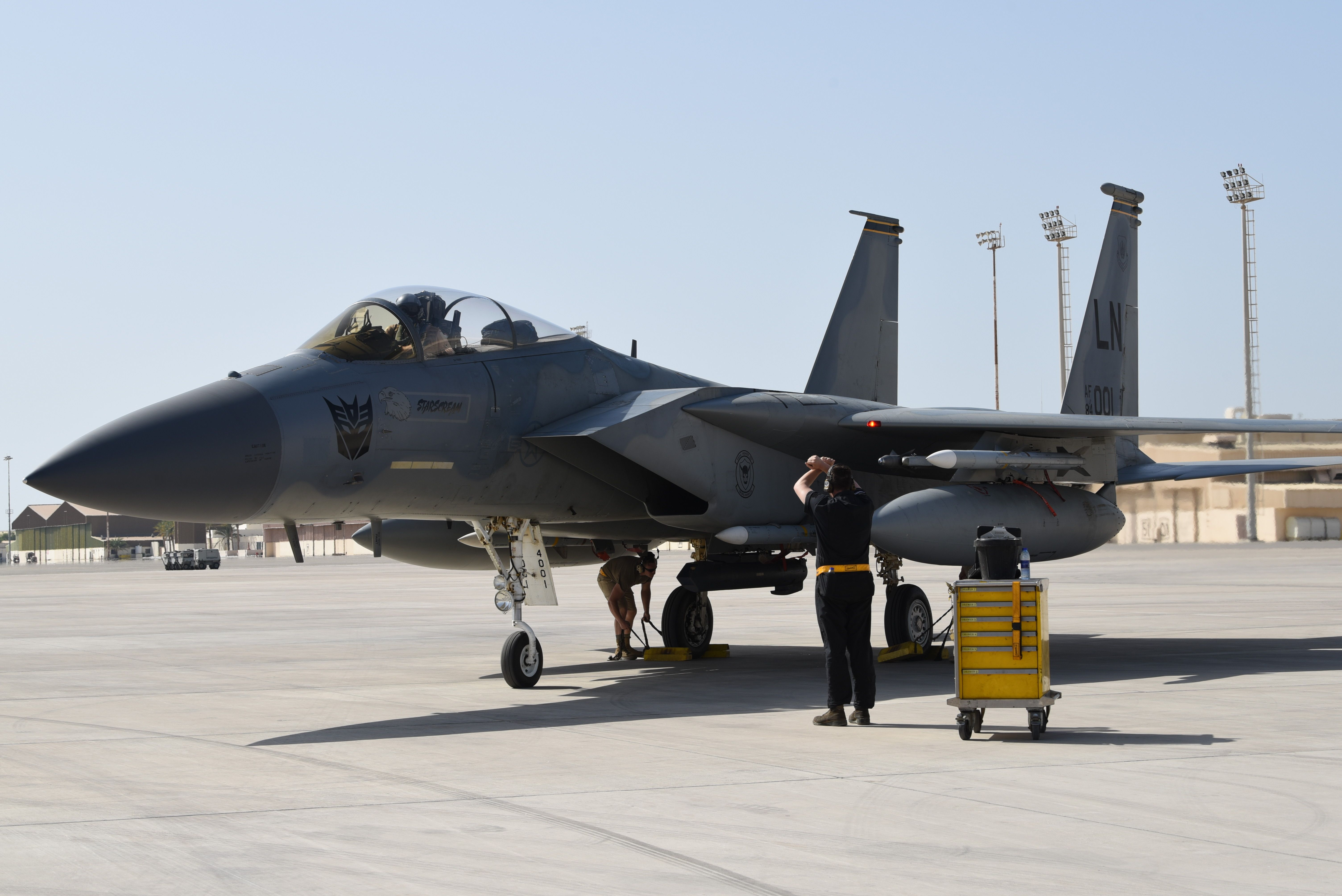 Official Images of U.S. Air Force F15C Eagle with
