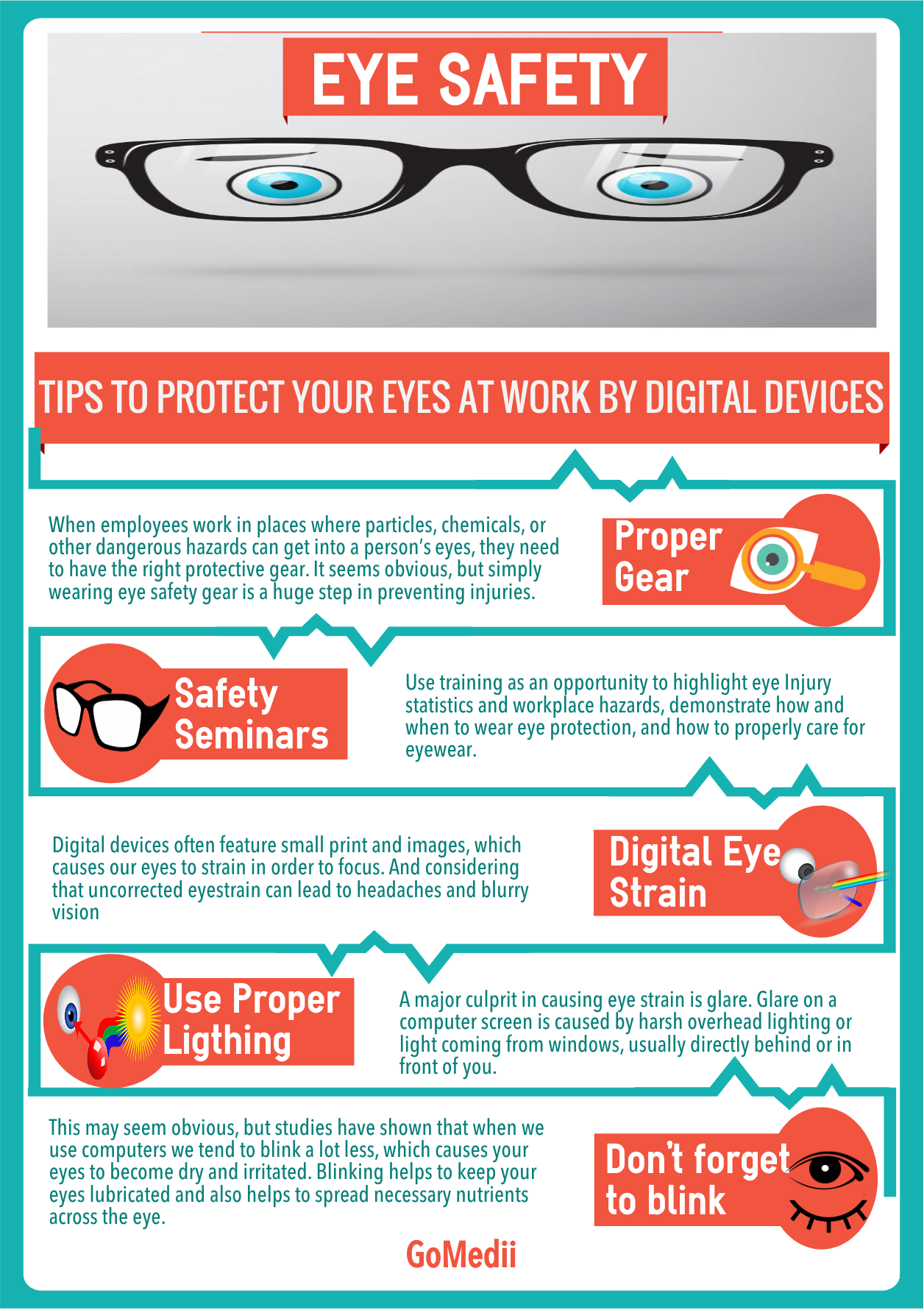 Top 5 Tips To Protect Your Eyes At Workplace