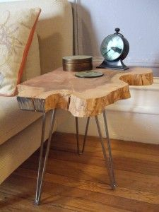 Live Edge Side Tables Live Edge Furniture Live Edge Wood Side
