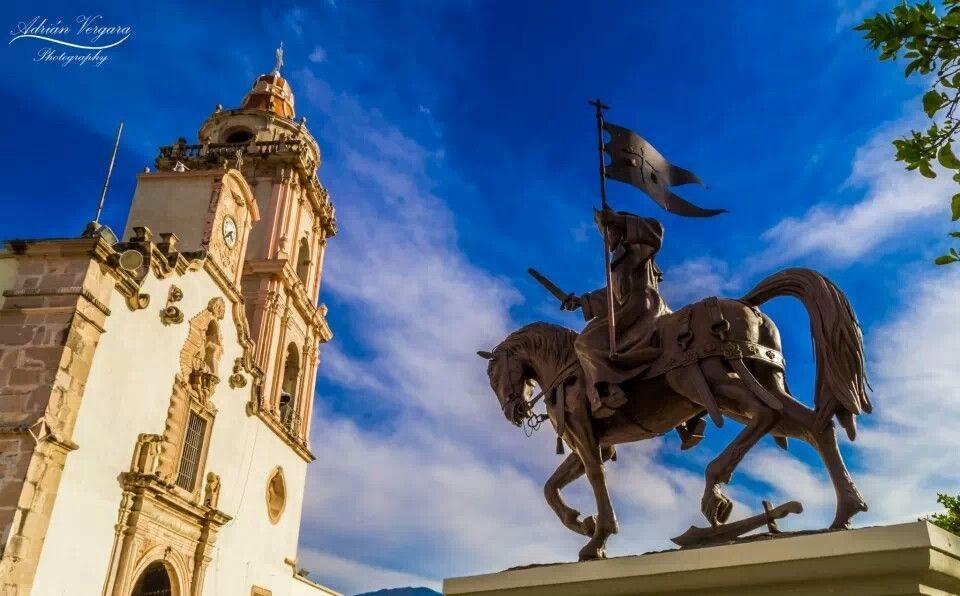 Estatua a Santiago el mayor , en Ixtlan del Rio Nayarit, Mexico