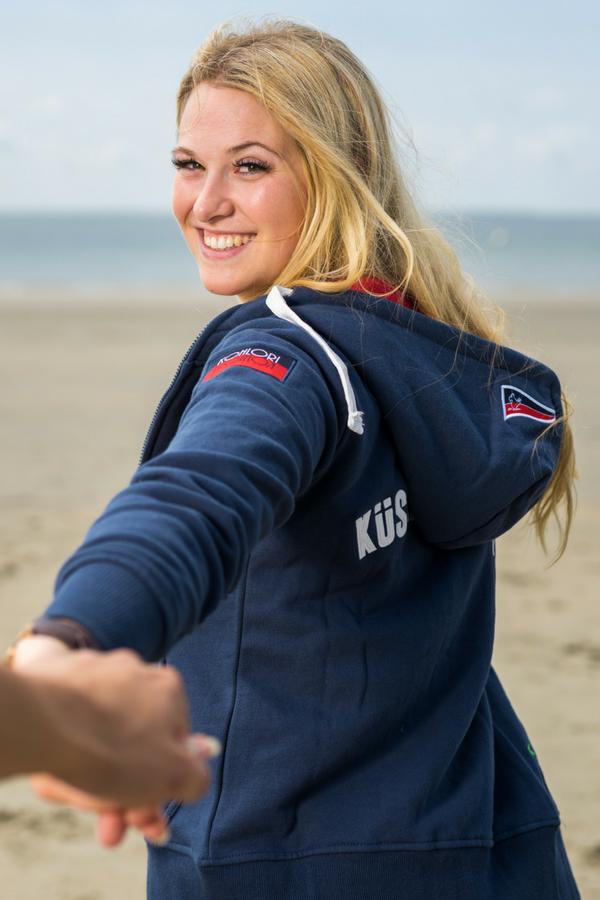 Küstenhopper Strandjacke Damen navy KOHLORI | Jacken